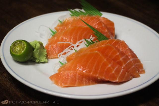 Salmon Sashimi of Nihonbashi Tei