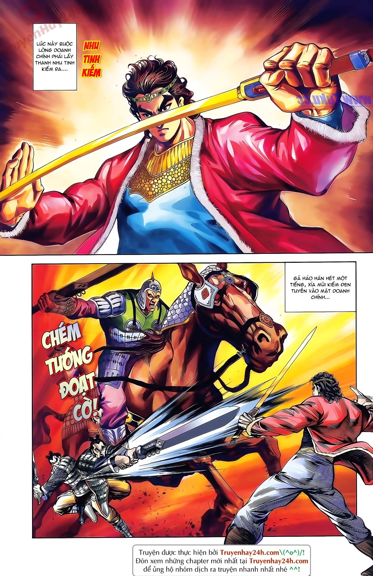 Tần Vương Doanh Chính chapter 42 trang 3