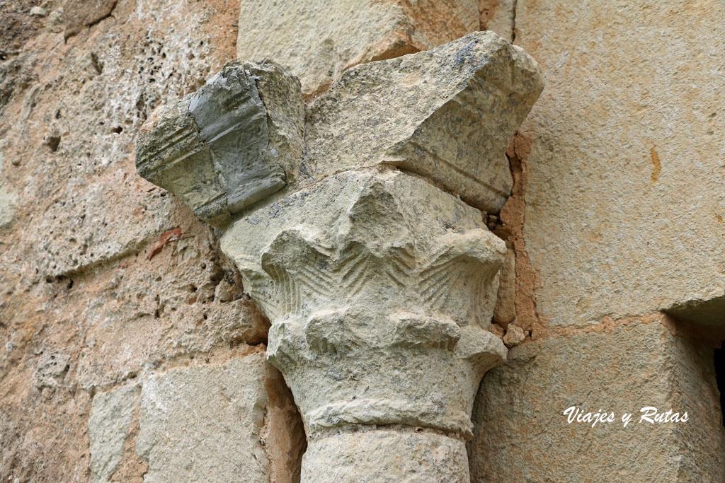 Capitel de la ermita de San Pelayo, Perazancas