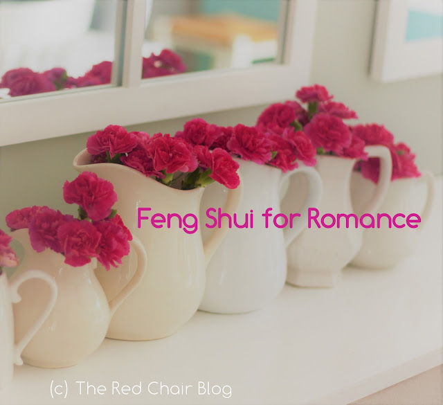 Feng shui tips for love and romance from The Red Chair Blog
