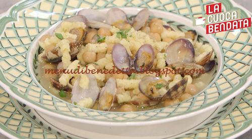 La Cuoca Bendata - Zuppetta di passatelli con vongole e ceci ricetta Parodi