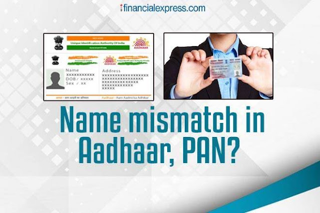 How to rectify different names on your Aadhaar and PAN card?