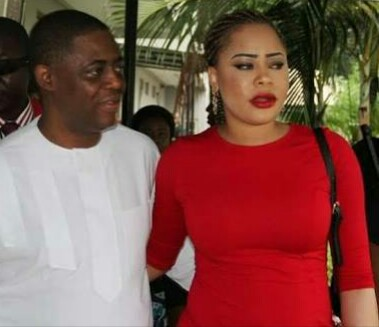 Femi Fani-Kayode and his wife, Precious