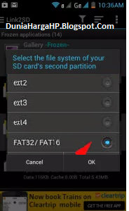 Fat32 Fat16 Link2SD Android