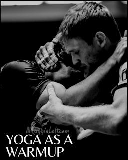 yoga as a warmup