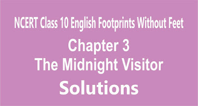 NCERT Class 10 English Footprints Without Feet Chapter 3 The Midnight Visitor