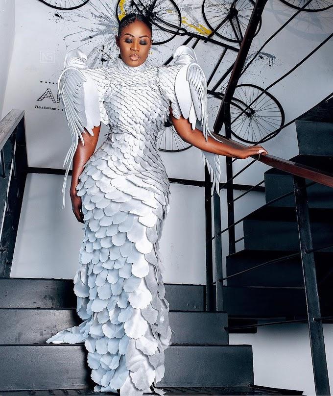 Nana Akua Addo's Angelic Fit For Glitz Style Awards 2019!
