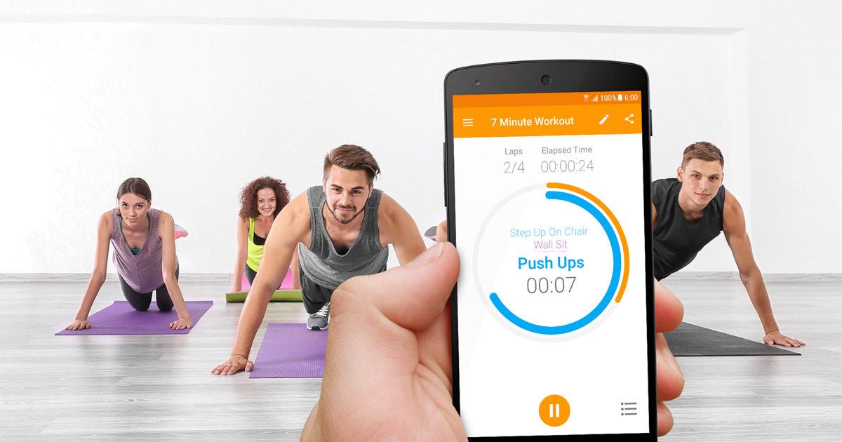 Top 4 Apps de Fitness: Exercise Timer