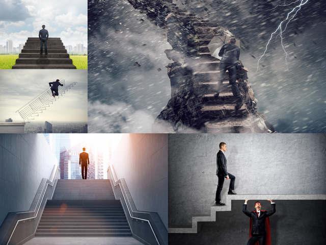 تحميل 5 صور عالية الجودة لمفهوم الصعود للقمة