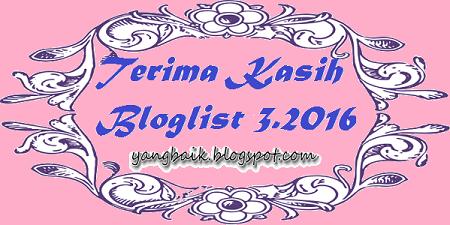Bloglist 3.2016