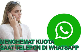 Mengemat Kuota Saat Telepon di WhatsApp