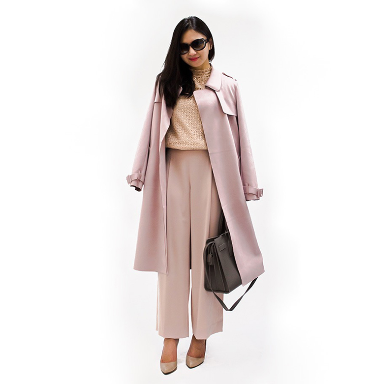 812048bb13a Suede Trench Coat - Elle Blogs
