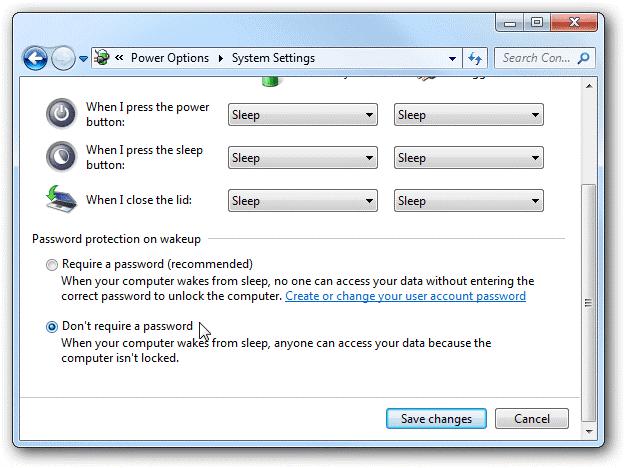 Cách bỏ qua bước nhập mật khẩu đăng nhập