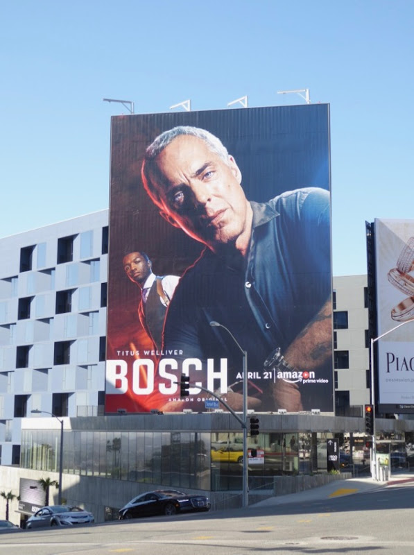 Giant Bosch season 3 billboard Sunset Strip