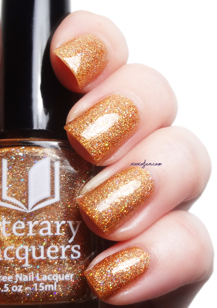 xoxoJen's swatch of Literary Lacquers I Heard the Bells