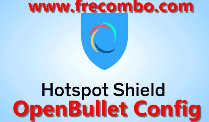 OpenBullet Config Hotspot Shield VPN Full Capture