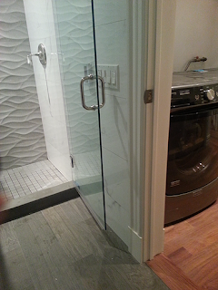 Shower Screen or Splash Guard New York