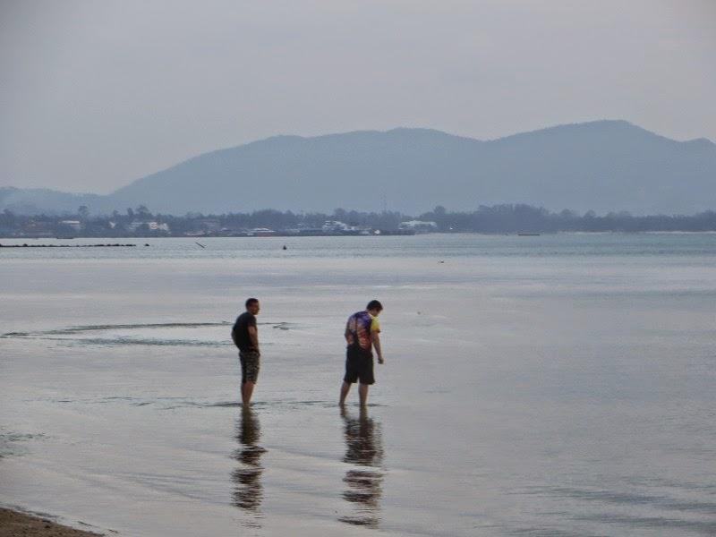 Пляж на Самуи закат