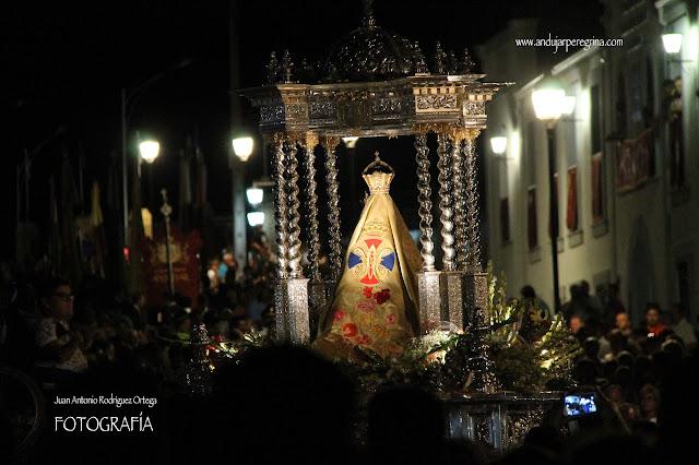 Virgen de la Cabeza procesión de Aparición