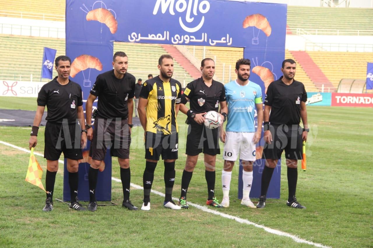 بعدسة الخبر المصري | شاهد صور مباراة المقاولون العرب وغزل المحلة بالدوري