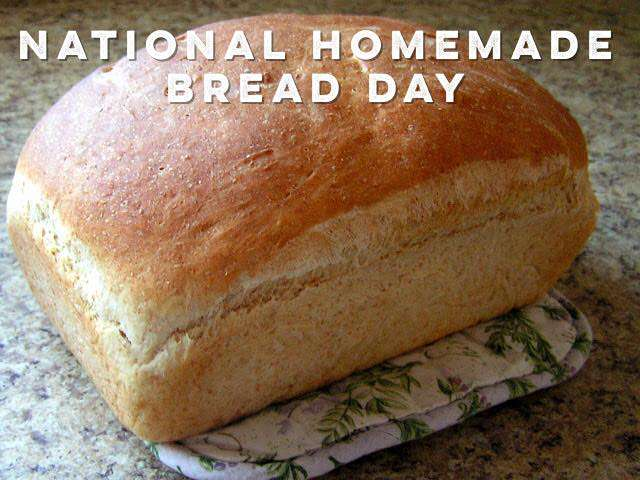 National Homemade Bread Day Wishes pics free download