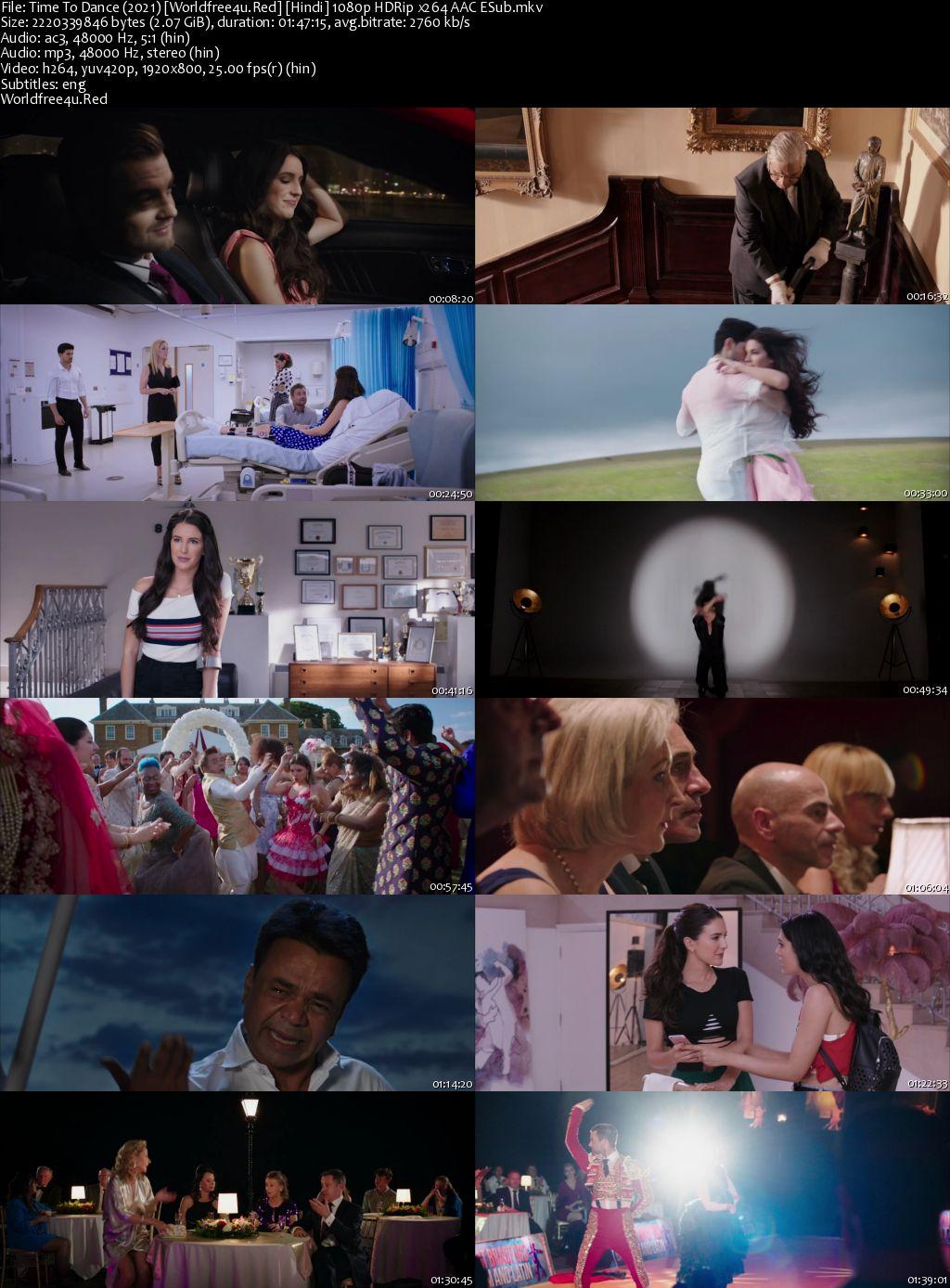 Time To Dance 2021 Hindi HDRip 1080p ESub