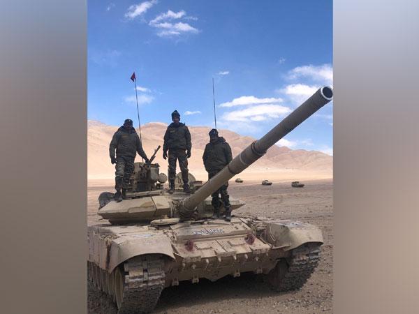 t-90 bhism in ladakh
