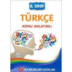 Fen Bilimleri 8.Sınıf Türkçe Konu Anlatımlı (2015)