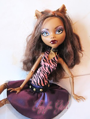 Monster High Clawdeen Wolf 17 inch
