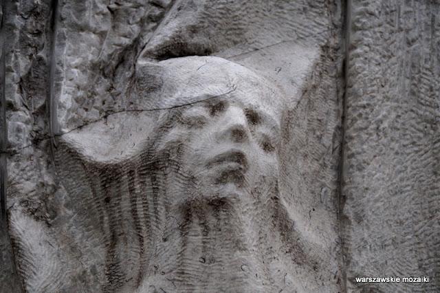 Górczewska Warszawa Warsaw pomniki Paweł Pietrusiński 1994 monument rzeźba