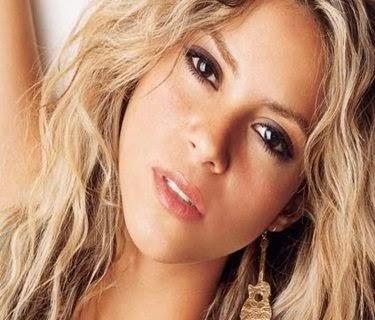 A linda, maravilhosa... cantora colombiana Shakira