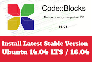 Install Code::Blocks Stable Version From PPA on Ubuntu