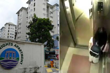 Kisah Jijik Pria Ngocok Hingga Muncrat Di Belakang Wanita dan Terekam CCTV