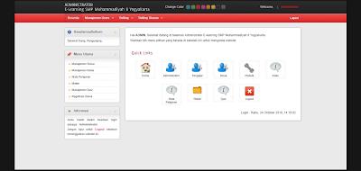 Free download Source Code Aplikasi E-learning Berbasis web dengan Php untuk sekolah