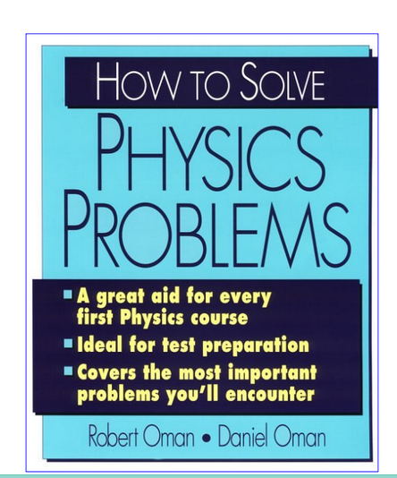 How To Solve Physics Problems PDF