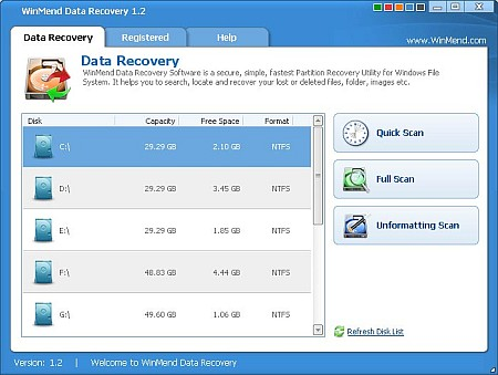 Download WinMend Data Recovery 2.2.0 Portable
