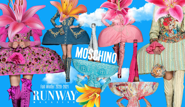Moschino Fall-Winter 2020-2021 by RUNWAY MAGAZINE