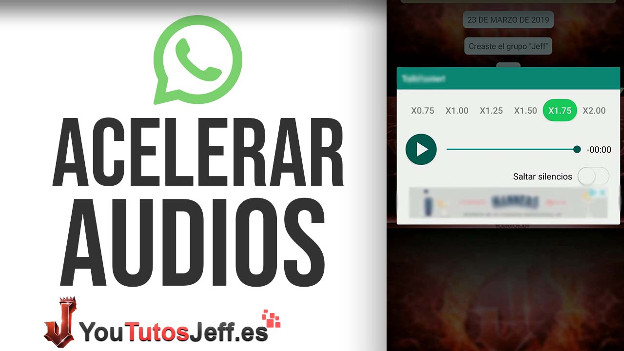 Acelera Audios de WhatsApp de Forma Simple