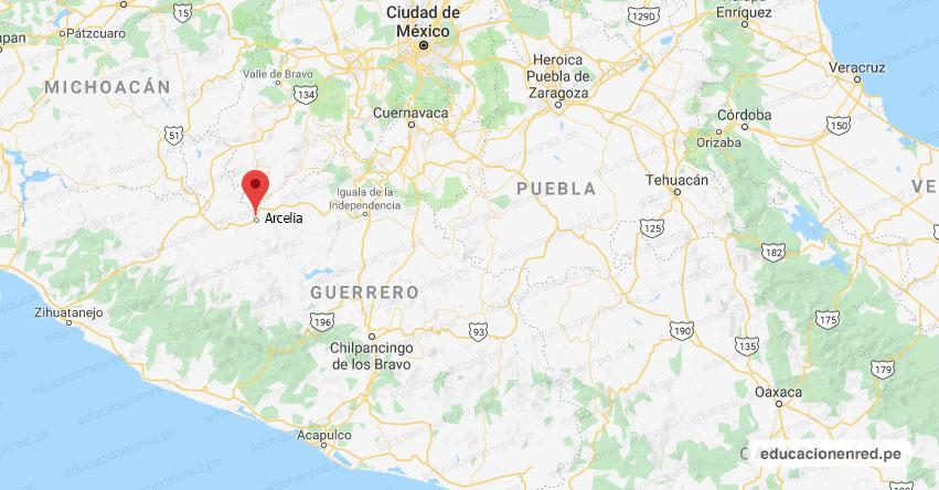 Temblor en México de Magnitud 4.2 (Hoy Miércoles 5 Diciembre 2018) Sismo, Epicentro - Arcelia - Guerrero - SSN - www.ssn.unam.mx