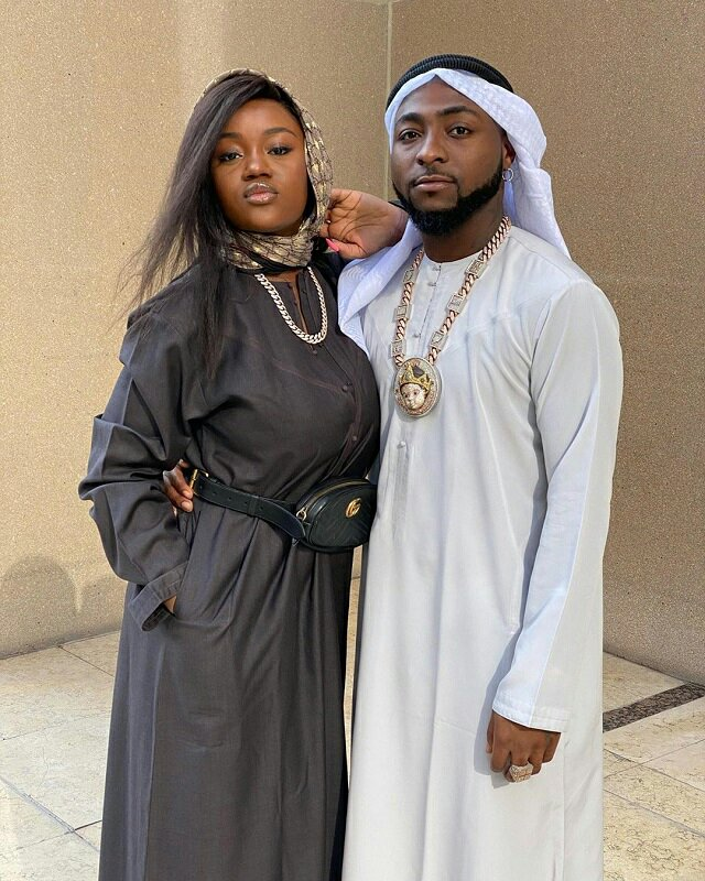 Davido's fiancee, Chioma tests negative for Corona virus