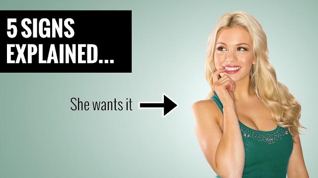 10 SECRET SIGNS A WOMAN WANTS SEX