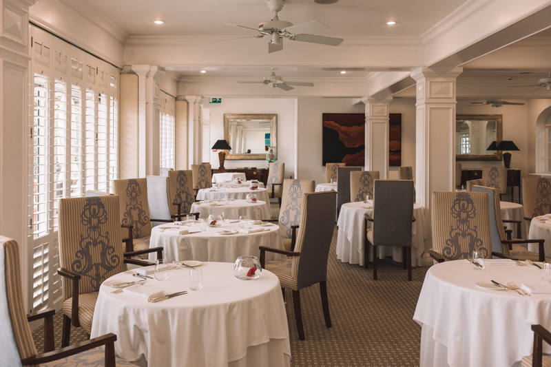 Ocean Restaurant, The Atlantic Hotel, Jersey