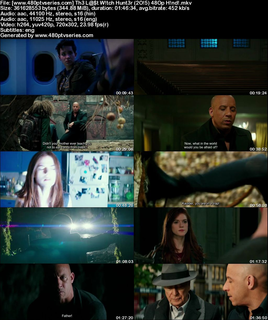 The Last Witch Hunter (2015) 350MB Full Hindi Dual Audio Movie Download 480p Bluray Free Watch Online Full Movie Download Worldfree4u 9xmovies