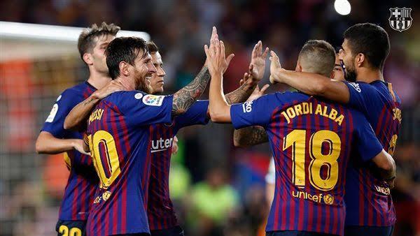تشكيل برشلونة ضد أرسنال عبر سوفت سلاش