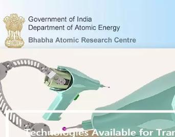 Bhabha Atomic Research Center Recruitment 2021