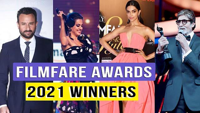 66th Vimal Elaichi Filmfare Awards Full Winners 2021 List