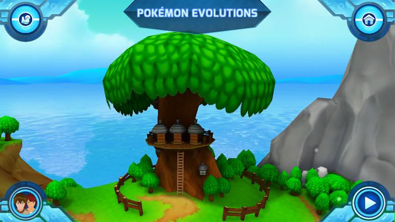 Camp Pokémon - Pokémon Evolutions