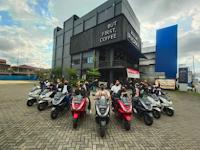 Kamil jadi MC Kota Pontianak Ngebuburide Pakai Honda PCX160