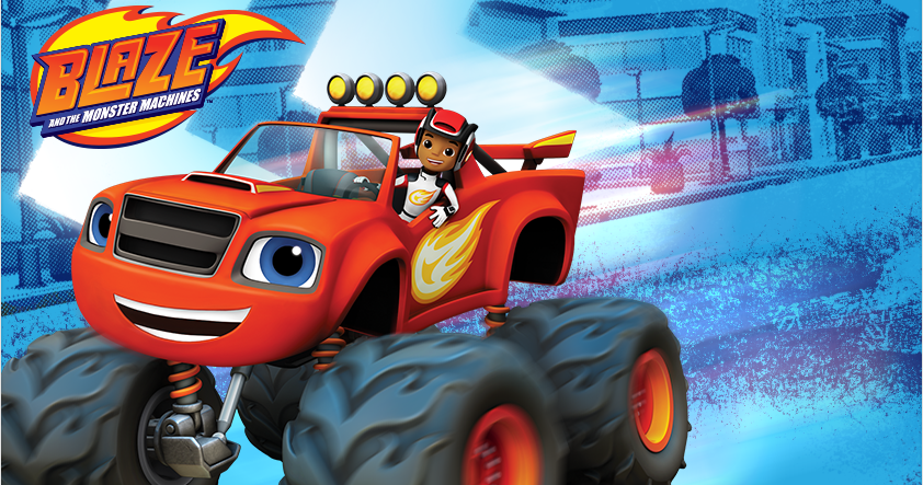 Nickalive Prepare For Monster Truck Adventures In Blaze And The