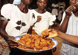 Nigerian Breakfast Fried Akara and Ogi=